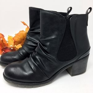 Baretraps Black Drennan Ankle Boots Sz 9.5
